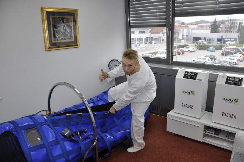 Rok Bagoroš on hyperbaric therapy